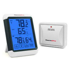 ThermoPro Digital Thermometer Wireless Indoor Outdoor Temperature Humidity Meter
