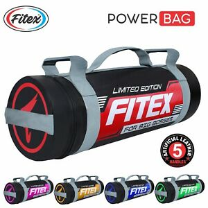 10KG Boxing Power Bag Sand Bag Crossfit Exercise Gym Training MMA Weight Bag
