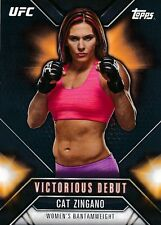 VD-21 CAT ZIGANO 2015 Topps UFC Chronicles VICTORIOUS DEBUT