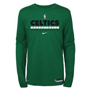 Nike NBA Youth (8-20) Boston Celtics Practice Long Sleeve T-Shirt