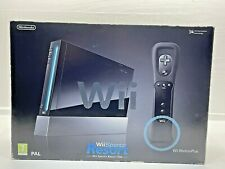 Nintendo Wii Console Black Resort VERY GOOD CONDITION TESTED