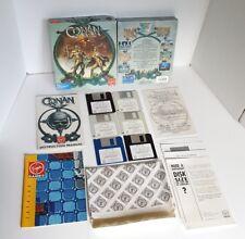 "Conan the Cimmerian (IBM PC Tandy / MS-DOS) 3.5"" Floppy Disks 1991"