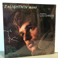SEALED ! Lou Christie LP EnLightin'ment (Best of Lou Christie), R1 70246, 1988