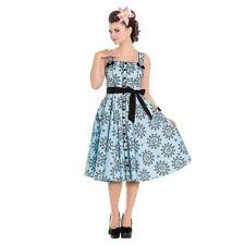 Damenkleider im 50er-Jahre-Stil mit hellem Bunny
