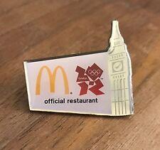 McDonald's London 2012 Big Ben Olympic Pin