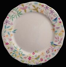 PORTMEIRION FOR JOHN LEWIS SECRET GARDEN SALAD PLATE FLORAL BIRDS