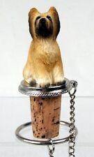 Briard Dog Wine Stopper