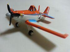 Mattel Disney Pixar Planes No.7 Dusty Crophopper Metal Toy Loose New In Stock