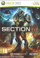 SECTION 8 for Xbox 360 - with box & manual - PAL