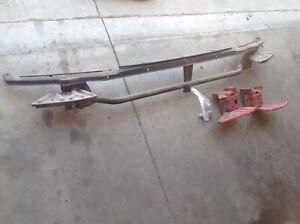 90-91 90 Honda CRX Hf Front Bumper Support Reinforcement Beam Bar OEM FREE SHIP!