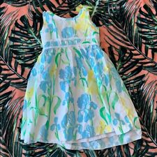 LILLY PULITZER Girls Floral Dress Size 5
