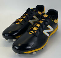 New Balance 4040v5 Mens Size 16 D Baseball Cleats Black Yellow