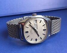 RARE Vintage Timex Gents Orologio Da Polso Automatico da 70 S