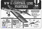 """Midwest Profile Warbird Plans: 33"""" Messerschmitt 109 for .15 Engines"""