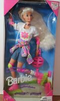 In-Line Skating Foreign Edition Barbie Doll Damaged Box