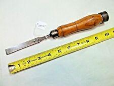 "W. MARPLES & SONS Wood Chisel, Vintage 1/2"" Wide Blade Wood Chisel, Nice Patina"