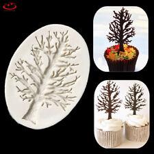 3D Tree Silicone Fondant Embellishment Mold Cake Chocolate Decor Baking Mould