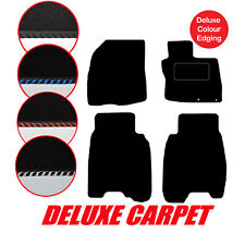 Honda Civic 2006 to 2008 Tailored Car Mats Deluxe Carpet & Edgings with Clips