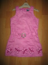 Gorgeous Size 4 Years (108cm)Suede Effect Pumpkin Patch Pinafore Dress  Cute VGC