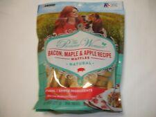 Purina Dog Treats Waffles Bacon Maple Apple Dog Chews Dog Food 9 Oz. Bag