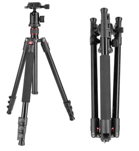 "Neewer 62"" Alluminum Alloy Camera Tripod with 360 Ball Head & 1/4"" RQ Plate"