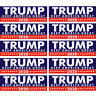 20x Donald Trump for President Make America Great Again 2020 Bumper Stickers Set