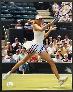 Maria Sharapova Tennis Signed 8x10 Photo Autographed Auto COA