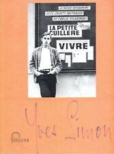 YVES SIMON Rarissime COLLECTOR DOSSIER DE PRESSE Dédicace + Lettre C. DEJACQUES