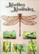 Belgium 2018 MNH Dragonflies Libellen 5v M/S Dragonfly Insects Stamps