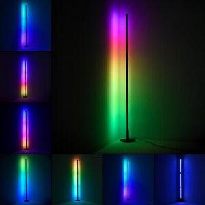 RGB Corner Floor Lamp Modern Colour Remote Minimalist LED Corner Standing Light