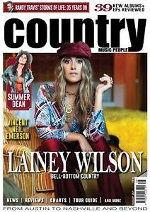 Country Music People Magazine August 2021 (Lainey Wilson, Summer Dean, R.Travis)