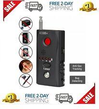Anti-Spy Signal Bug RF Detector Hidden Camera Laser Lens GSM Device Finder