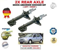 FOR DAIHATSU CHARADE 1.3 1.5 1.6 GTi 1994-2001 REAR LEFT + RIGHT SHOCK ABSORBERS