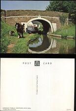 SHROPSHIRE UNION CANAL Narrow Boat PAMELA  Towpath Horse