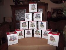 Lot of 12 Liberty Falls Collectibles from The American Collection *Nib *1994