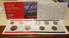 2006 UNITED STATES UNCIRCULATED MINT SET *IN ORIGINAL PACKAGING* 20 COIN SET!