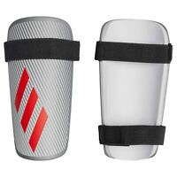 adidas X Lite Shin Guards Silver Football Soccer Protective Accessories