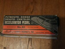 Plymouth Dodge DeSoto and Chrysler Accelerator Gas Pedal No 80 Oldsmobile