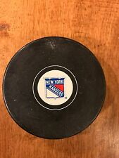 Vintage NEW YORK RANGERS Hockey Puck