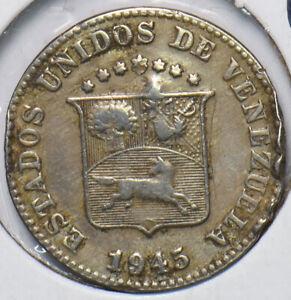 Venezuela 1945 5 Centimos Horse animal 902726 combine shipping