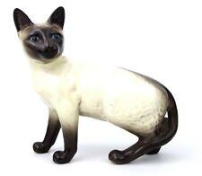 Beswick Siamese Cat Standing 1897 Black Oval