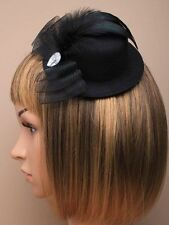 Black Fabric Costume Hair & Head Jewellery