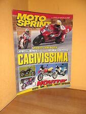 MotoSprint - n° 37 - 15/21 Settembre 1993 - Cagiva/BMW/Suzuki/Harley Davidson