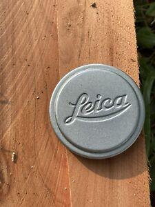 Genuine Vintage Leica Leitz 36mm Push-On Front Lens Cap - Chrome-Plated Brass