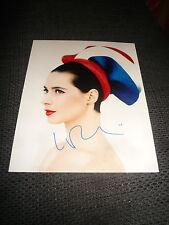 ISABELLA ROSSELLINI signed Autogramm auf SEXY 20x25 cm Bild InPerson LOOK