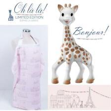 New Bebe au Lait Sophie la Girafe The Giraffe, Pink Nursing Cover Hooter Hiders