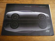 JAGUAR F TYPE CONCEPT PRESS PACK