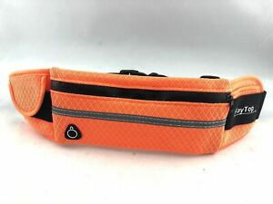 Running Belt Waist Pack Waist Bag with Water Bottle Holder (Orange)