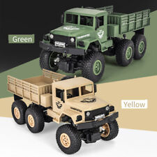 JJR/C Q69 2.4GHz 6WD 1/18 RC Off-road Military Truck RC Toy Birthday Gift W8Q4