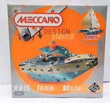 MECCANO DESIGN STARTER SET 2716 - BOAT - NEW